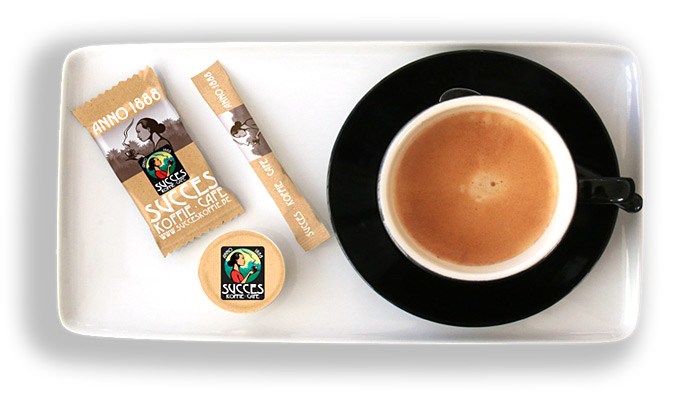 Succes Koffie - With your coffee
